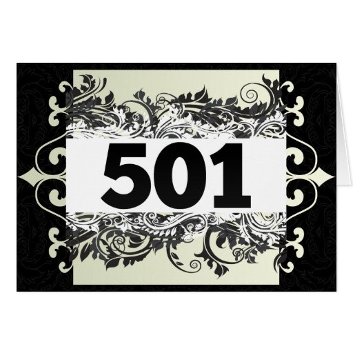 501 GREETING CARDS