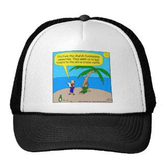 501 church fundraiser cartoon cap