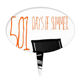 501 Days Of Summer Cake Toppers