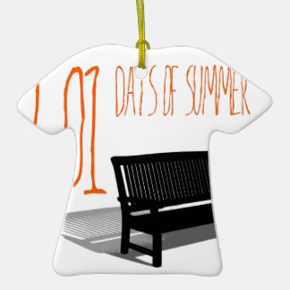501 Days Of Summer Ceramic T-Shirt Decoration