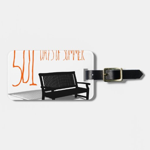 501 Days Of Summer Luggage Tag