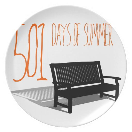 501 Days Of Summer Party Plate