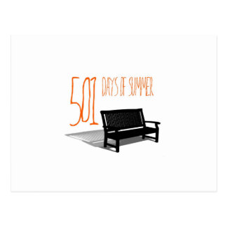 501 Days Of Summer Postcard