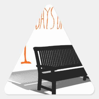 501 Days Of Summer Triangle Sticker