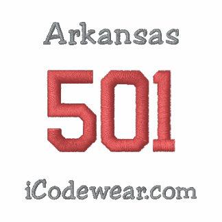 501 Little Rock Embroidered Hooded Sweatshirt