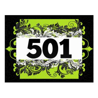 501 POSTCARD