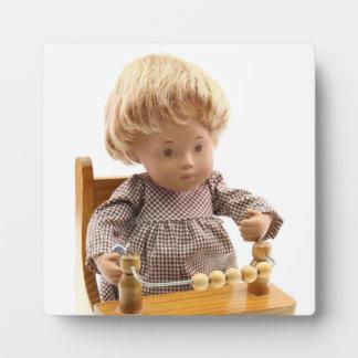 501 Sasha baby honey blond Sandy photo plate Plaque