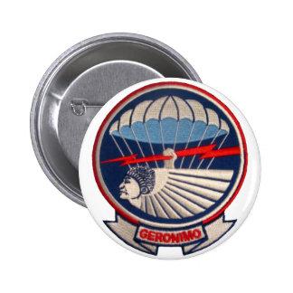 501st PIR 6 Cm Round Badge