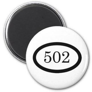 502nd Airborne 6 Cm Round Magnet