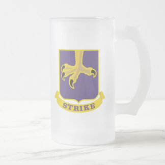 502nd Infantry Regiment - 101st Airborne Division Frosted Glass Mug
