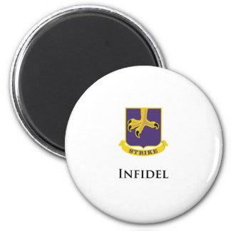502nd PIR- Infidel 6 Cm Round Magnet