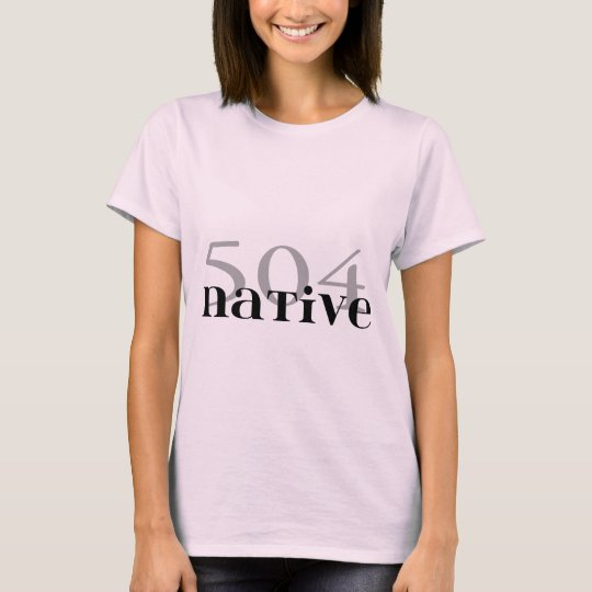 504 Native T-Shirt