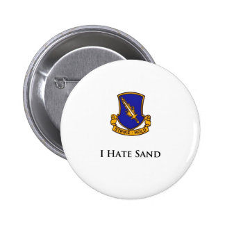 504th- I Hate Sand 6 Cm Round Badge