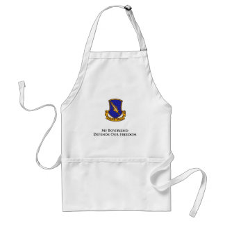 504th PIR- My Boyfriend Defends Our Freedom Standard Apron