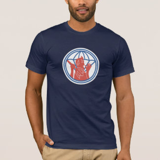 504th PIR Pocket Patch T-shirts