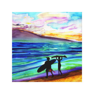 505 afternoon lahaina gallery wrap canvas