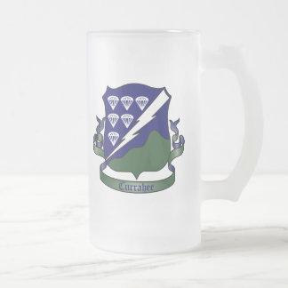 506th Infantry Regiment - 101st Airborne Division 16 Oz Frosted Glass Beer Mug