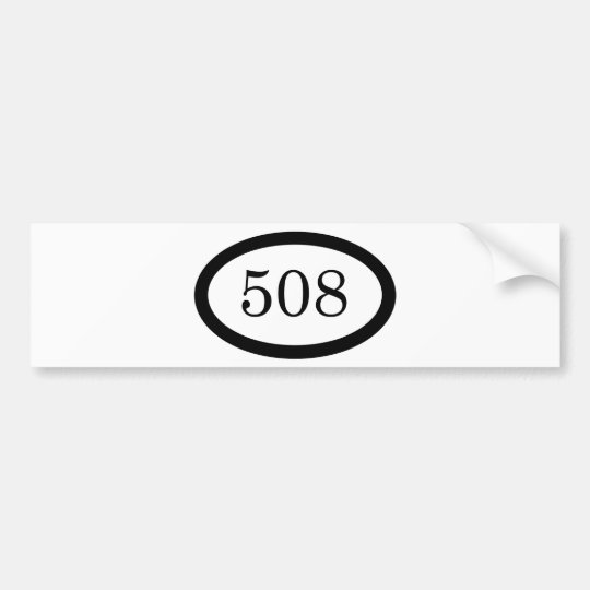 508 BUMPER STICKER