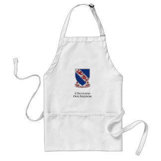 508th PIR I Defended Our Freedom Adult Apron