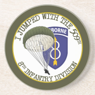 509th Airborne [8th ID] Drink Coasters