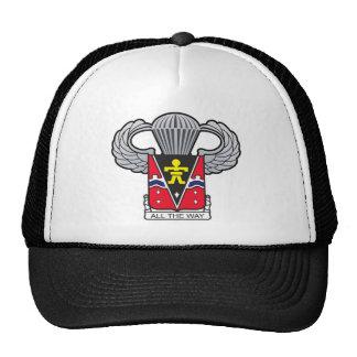 509th Airborne Crest with Airborne Wings Cap
