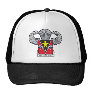 509th Airborne Crest with Airborne Wings Hats