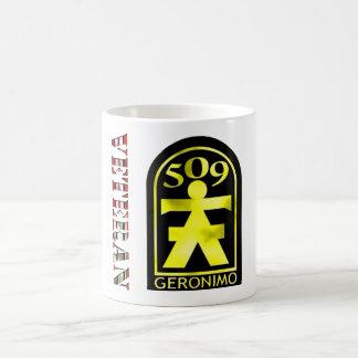 509th Geronimo OEF/OIF Basic White Mug