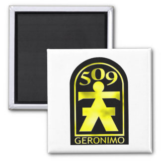 509th Geronimo Square Magnet