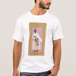 50.14/8 Portrait of Malik Amber, inscribed in Deva T-Shirt