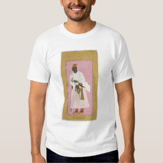 50.14/8 Portrait of Malik Amber, inscribed in Deva Tshirt