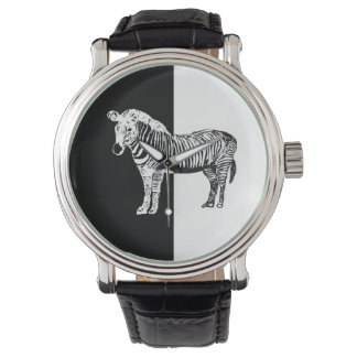 50/50 Zebra watch