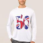50 Age UK Tee Shirts