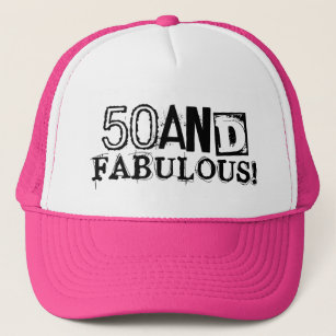 50 And Fabulous Birthday Hat