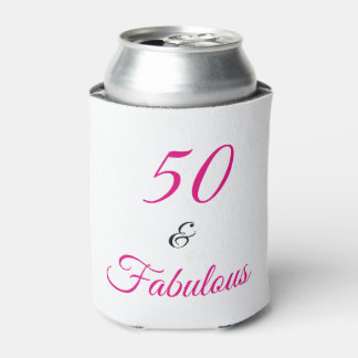 50 and Fabulous Can Cooler