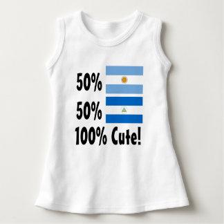50% Argentenian 50% Nicaraguan 100% Cute Dress
