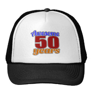 50 Awesome Birthday Cap