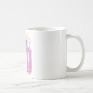 50 Birthday Candles (Pink / Purple) Mug