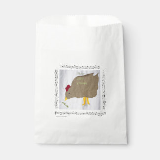 50 Chicken + Music Food-Safe Favor Bags Favour Bags