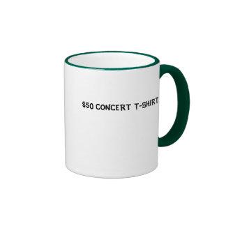 $50 CONCERT T-SHIRT RINGER MUG