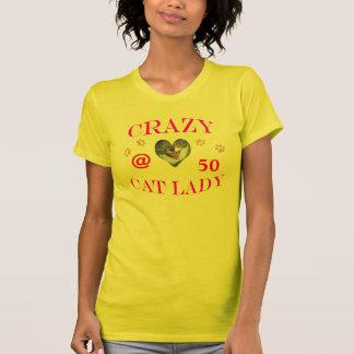 50 Crazy Cat Lady T-Shirt