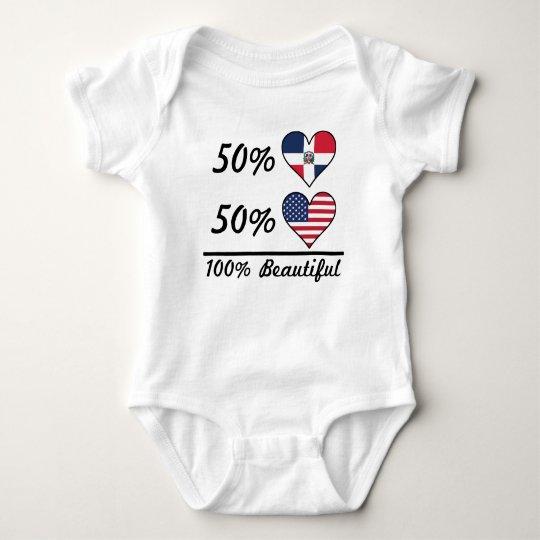 50% Dominican 50% American 100% Beautiful Baby Bodysuit