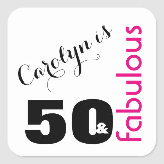 """50 & Fabulous"" 2 