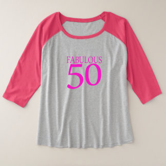 50 fabulous 50th birthday shirt