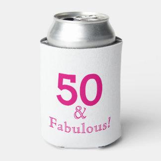 50 & Fabulous Can Cooler