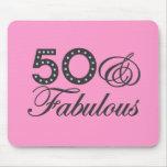 50 & Fabulous Gift Mouse Mats