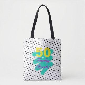 50 & Funky Fresh | Tote Bag
