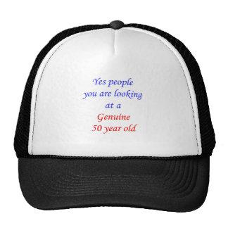 50  Genuine 50 Year Old Mesh Hat