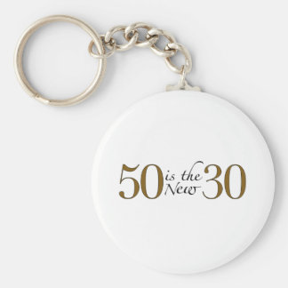 50 Is The New 30 Key Ring