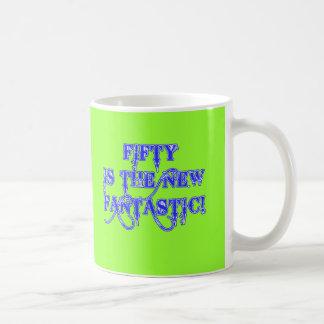 50 is the New Fantastic Products Basic White Mug