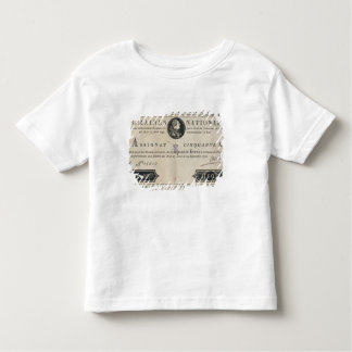 50 livres bank note, 29th October 1790 Toddler T-Shirt